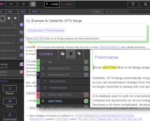 Screenshot of XMLFlow